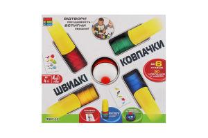 Гра настільна для дітей 4років №JT007-55 Швидкі ковпачки Kingso Toys 1шт