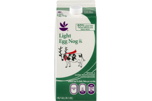 Ahold Light Egg Nog