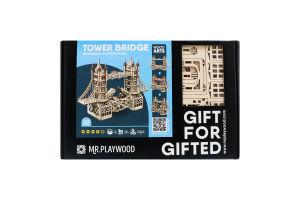 Модель коллекционная деревянная Tower bridge 3D Mr. Playwood 1шт