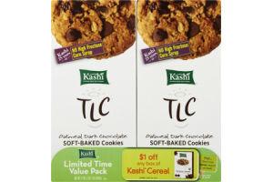 Kashi TLC Oatmeal Dark Chocolate Soft-Baked Cookies - 2 PK