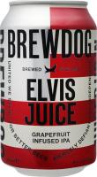 Пиво 330мл 6.5% янтарне фільтроване пастеризоване Elvis Juice Brewdog з/б