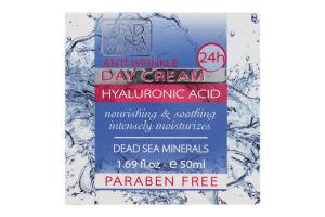 Крем для лица дневной против морщин Hyaluronic Acid Dead Sea Collection 50мл
