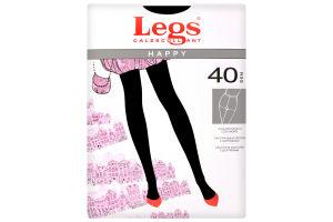 Колготки жіночі Legs Happy 40den №5 nero
