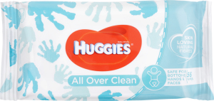 Салфетки влажные Huggies Over Clean детские
