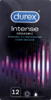 Презервативи латексні з силіконовою змазкою Intense Orgasmic Durex 12шт