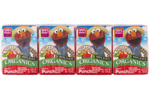 Apple & Eve Organics 100% Juice Elmo's Punch