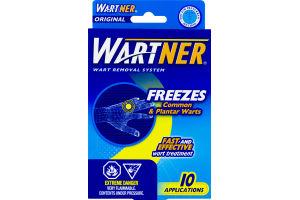 (CN) Wartner Dispositif Anti-Verrues Gele - 10 CT, Wartner Wart Removal System - 10 CT