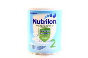Смесь Nutricia №2 Кисломолочный Nutrilon 400г ж/б