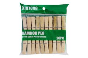 Набор прищепок деревянных 8.5см №848105 Yiwu Kitchen Utensil Manufacturing 1шт