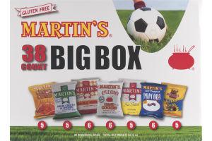 Martin's 38 Count Big Box Variety Pack - 38 CT