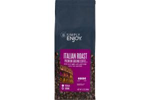 Simply Enjoy Premium Ground Coffee Italian Roast