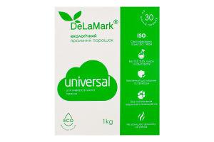 Порошок стиральный концентрированный бесфосфатный Universal Eco DeLaMark 1кг