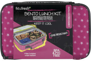 Fit & Fresh Bento Lunch Kit