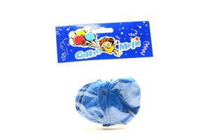 Шарики воздушные надувные синие Свято свит 6шт