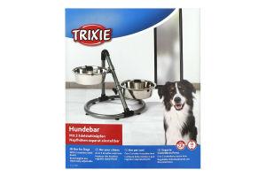 Подставка с мисками для собак 2.8л №25001 Trixie 1шт