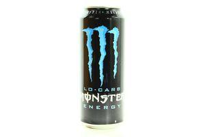 Напиток Monster Energy Lo-carb энергетический б/алк ж/б 0,5л