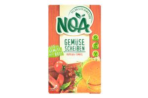 Овочеві скибочки паприка-томати ТМ NOA