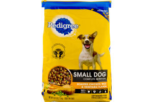 Pedigree Small Dog Complete Nutrition Food For Dogs Roasted Chicken, Rice & Vegetable