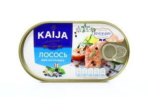 Филе лосося натуральное Kaija ж/б ключ 170г