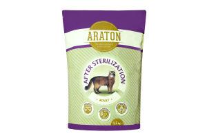 Корм для котов Araton Adult after sterilization
