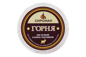 Сыр 38.36% мягкий с белой плесенью Горня Сироман кг