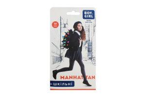 Колготи дитячі Boy&Girl Manhattan 50den 152-158 dark blue