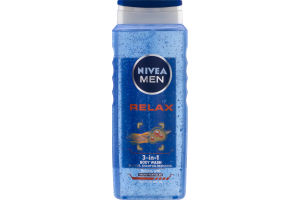 Nivea Men 3-In-1 Body Wash Relax