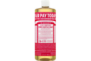 Dr. Bronner's 18-In-1 Hemp Rose Pure-Castile Soap