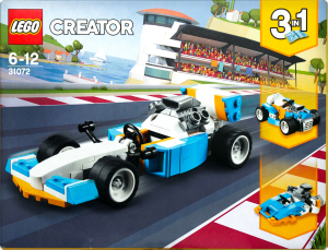 LEGO® Creator Экстремальные гонки 31072