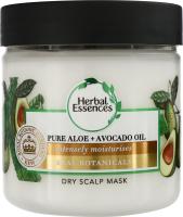Маска для сухої шкіри голови Алое та Авокадо Herbal Essences 250мл
