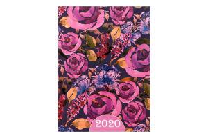 /Ежедневник дат. 2020 ESTILO, A5, 336 стр., фиолетовый