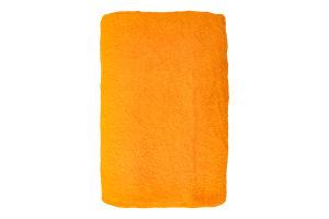Полотенце махровое желтое 100х150см Баркас-Текс 1шт