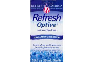 Refresh Optive Luricant Eye Drops Long-Lasting Hydration