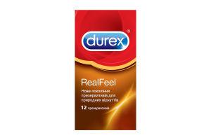 Презервативи Durex Real Feel 12шт х6