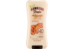 Hawaiian Tropic Shimmer Effect SPF 40 Lotion Sunscreen