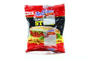 Сухарики со вкусом Хот-Дога American style Flint м/у 90г