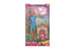Лялька з песиком Defa 8232