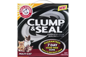 Arm & Hammer Clump & Seal Odor Sealing Litter Multi-Cat