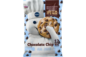 Pillsbury Big Deluxe Chocolate Chip Hershey\'s Kitchen Cookie Dough ...