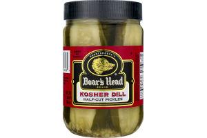 Boar's Head Half-Cut Kosher Pickles Dill