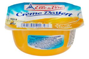 Десерт вершковий з ваніллю Elle&Vire ст 100г
