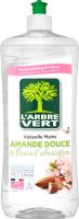Засіб для миття посуду Солодкий мигдаль&Цвітіння абрикоса L'arbre Vert 750мл