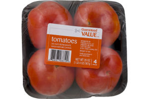 Guaranteed Value Tomatoes - 4 PK