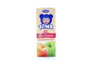 Сок яблоко-персик Тема т/п 200мл