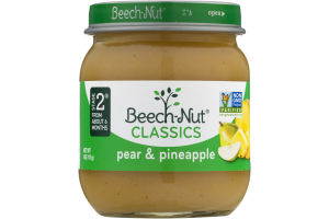 Beech-Nut Classics Stage 2 Pear & Pineapple