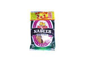 Набор бычок солено-сушеный спинки б/ш + кольца кальмара солено-сушеные Пивний Nabeer м/у 45г