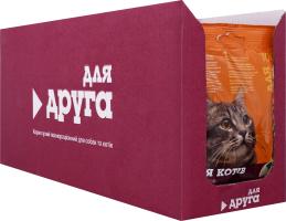 Корм сухой для кошек с курицей Для Друга м/у 100г