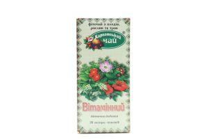 Чай Карпатський Вітамінний 20*1,5г х36