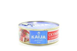 Скумбрія Kaija в томатному соусі 240г х 24