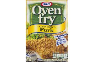 Kraft Oven Fry Extra Crispy Pork Seasoned Coating Mix